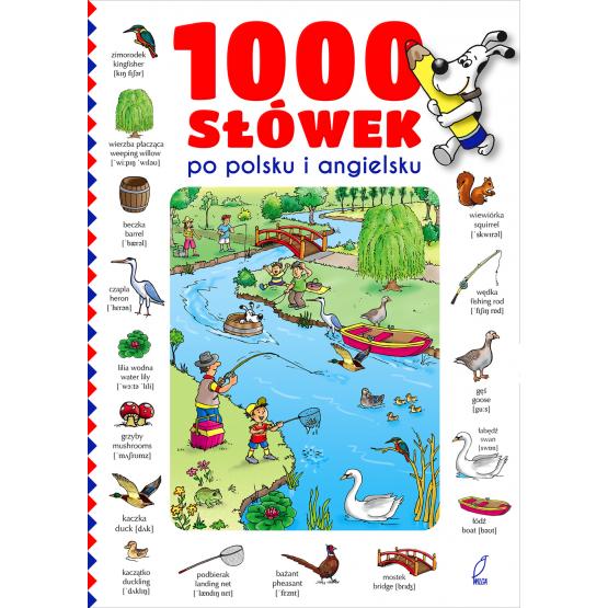 Książka 1000 słówek po polsku i angielsku Praca zbiorowa