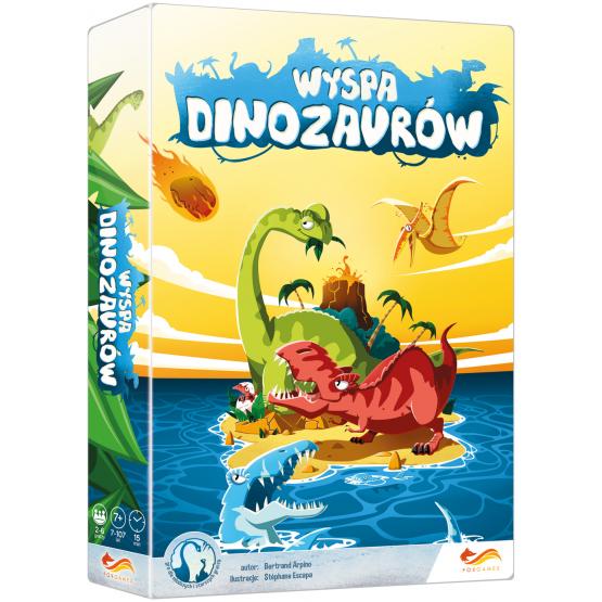 Gra karciana Wyspa Dinozaurów
