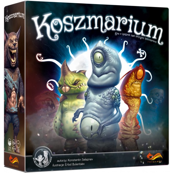 Gra strategiczna Koszmarium