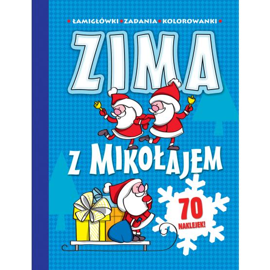 Książka Zima z Mikołajem Babula Joanna
