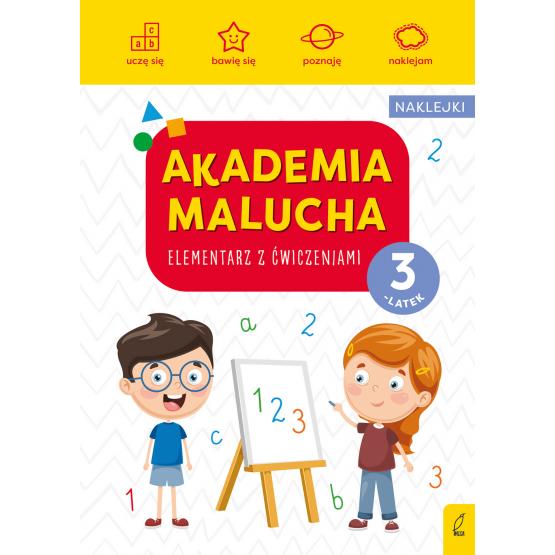 Książka Akademia malucha. Elementarz z ćwiczeniami. 3-latek Praca zbiorowa