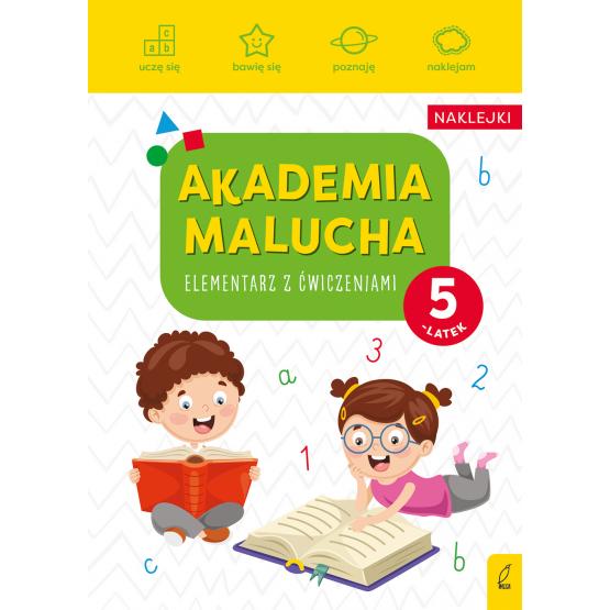 Książka Akademia malucha. Elementarz z ćwiczeniami. 5-latek Praca zbiorowa