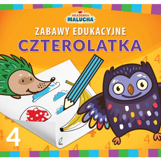 Zabawy edukacyjne czterolatka. Akademia Malucha