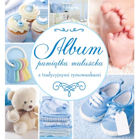 Album Pamiątka Maluszka niebieski