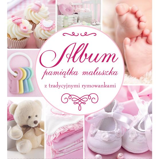 Książka Album Pamiątka Maluszka różowy Praca zbiorowa