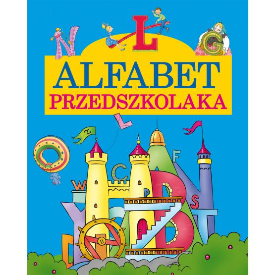 Książka Alfabet przedszkolaka Cichy Ludwik