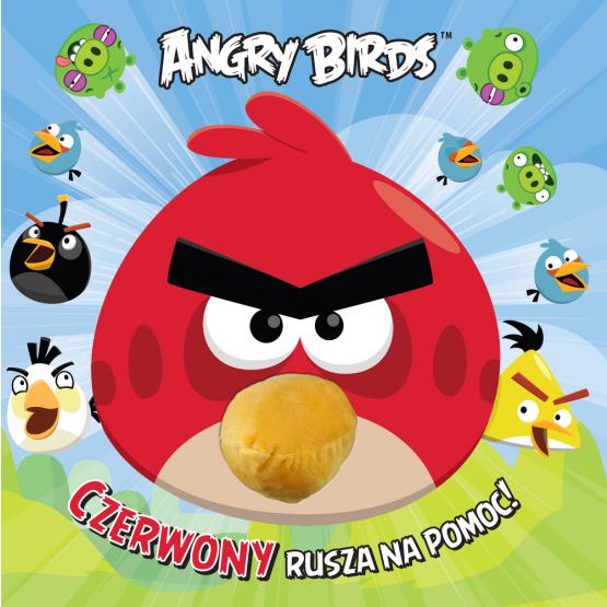 Książka Angry Birds. Czerwony rusza na pomoc! Praca zbiorowa