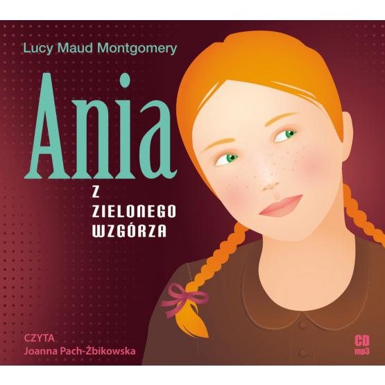 Książka Ania z Zielonego Wzgórza Montgomery Maud Lucy