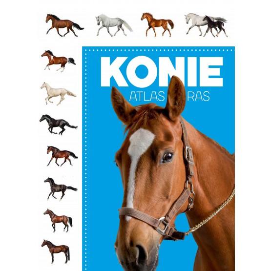Książka Atlas ras. Konie praca zbiorowa