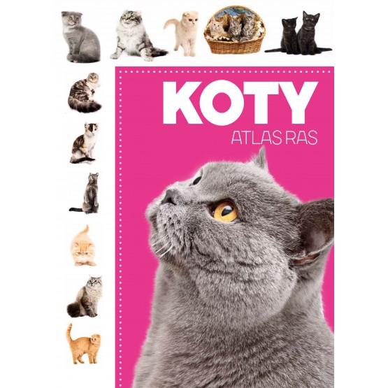 Książka Atlas ras. Koty praca zbiorowa