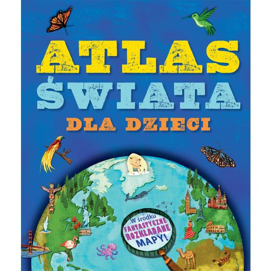 Książka Atlas świata dla dzieci Green Jen