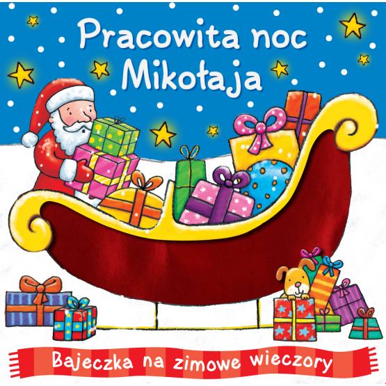 Książka Pracowita noc Mikołaja Praca zbiorowa
