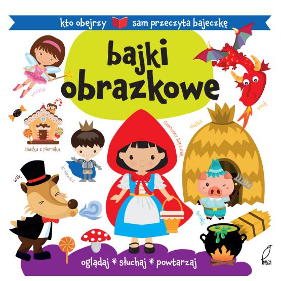Książka Bajki obrazkowe Kozłowska Urszula