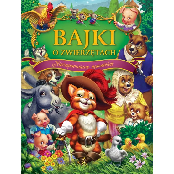Książka Bajki o zwierzętach praca zbiorowa