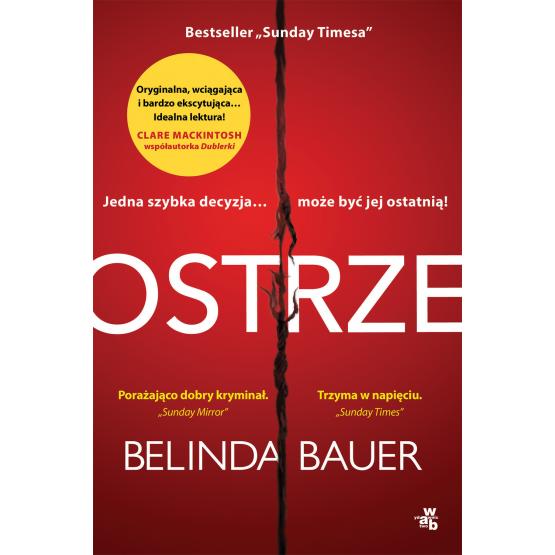 Książka Ostrze Belinda Bauer