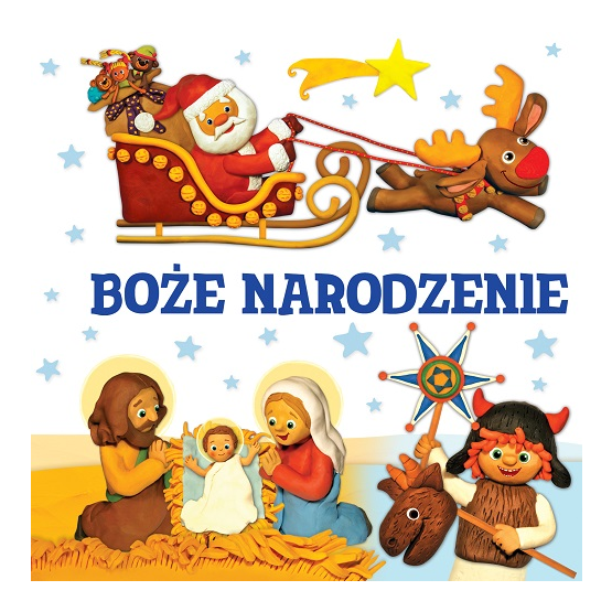 Książka Boże Narodzenie. Modelinki Knobloch Małgorzata