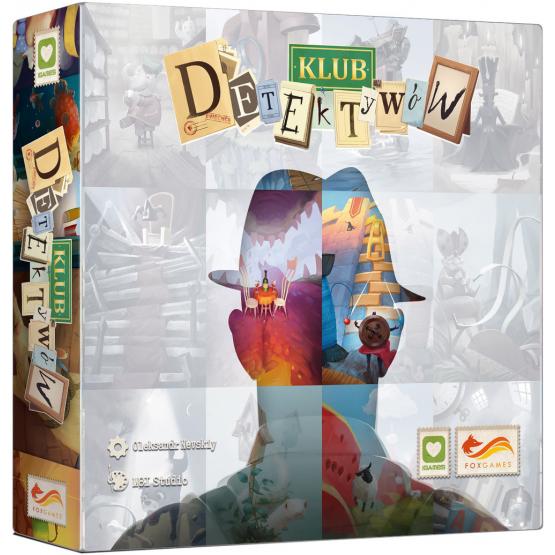 Gra familijna Klub Detektywów