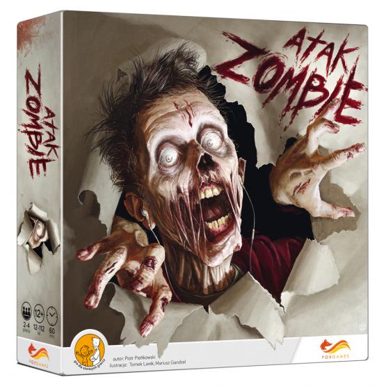 Gra strategiczna Atak zombie