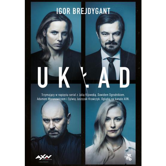 Książka Układ. Wydanie serialowe Igor Brejdygant