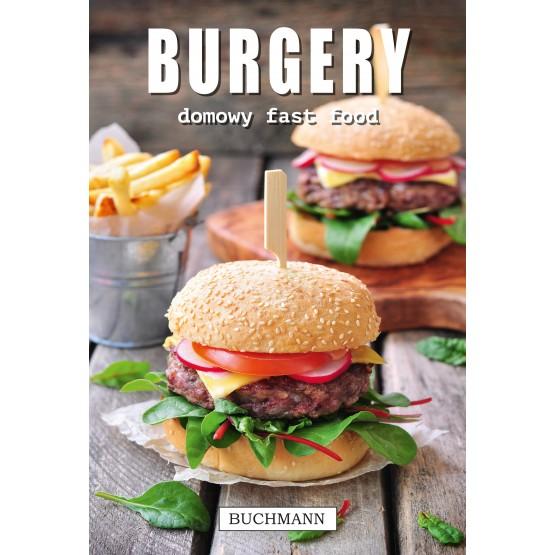 Książka Burgery. Domowy fast food praca zbiorowa