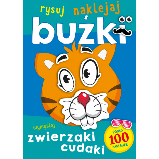 Książka Buźki. Zwierzaki cudaki Praca zbiorowa