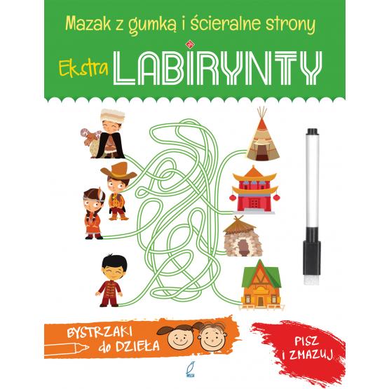 Książka Extra Labirynty. Bystrzaki do dzieła Praca zbiorowa