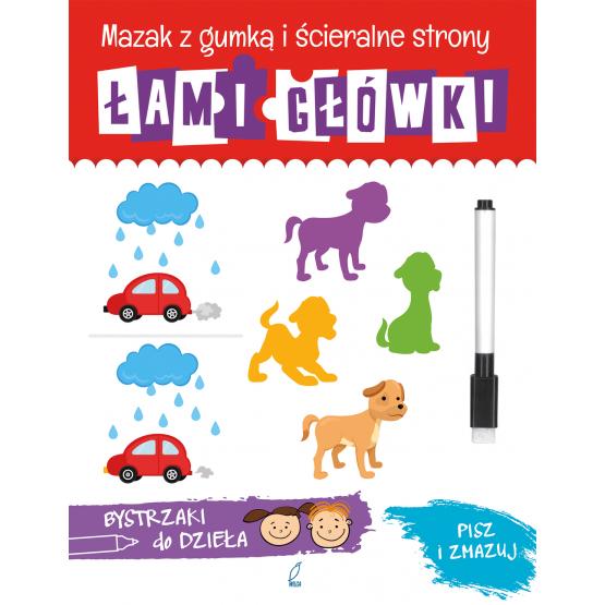 Książka Łamigłówki. Bystrzaki do dzieła Praca zbiorowa