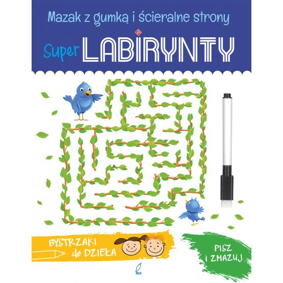 Książka Super Labirynty. Bystrzaki do dzieła Praca zbiorowa