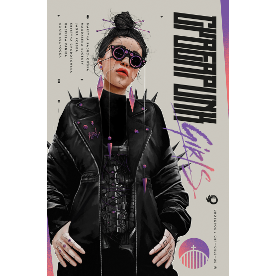 Książka Cyberpunk Girls Praca zbiorowa