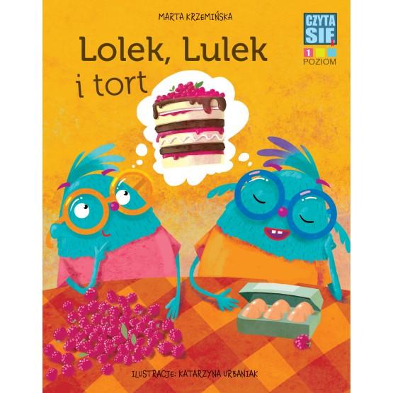 Książka Czytasie. Poziom 1. Lolek, Lulek i tort Krzemińska Marta