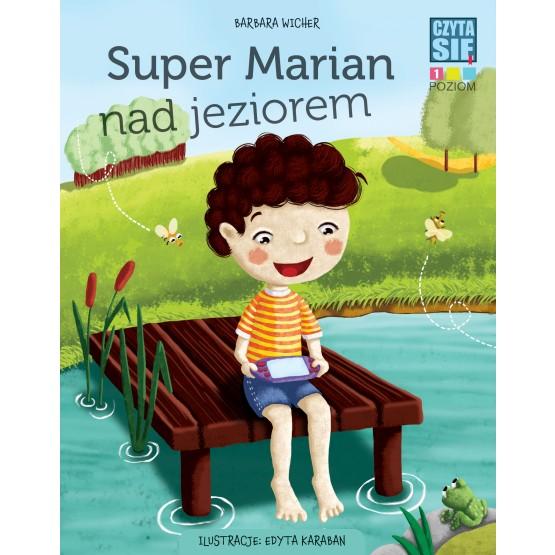 Książka Czytasie. Poziom 1. Super Marian nad jeziorem Wicher Barbara