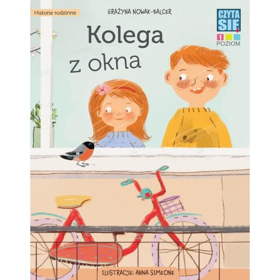 Książka Czytasie. Poziom 1. Kolega z okna Nowak-Balcer Grażyna