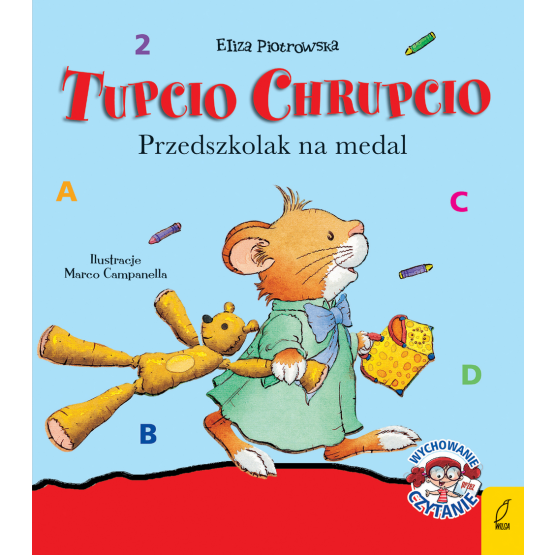 Książka Tupcio Chrupcio. Przedszkolak na medal Praca zbiorowa