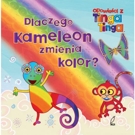 Książka Dlaczego kameleon zmienia kolory? Gakuya Edward