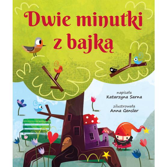 Książka Dwie minutki z bajką Sarna Katarzyna