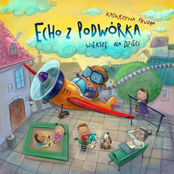 Książka Echo z podwórka Prudło Katarzyna