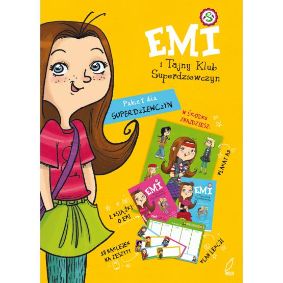 Książka Emi i Tajny Klub Superdziewczyn. Superteczka dla superdziewczyny Praca zbiorowa