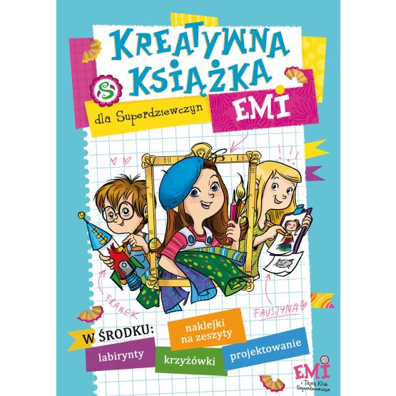 Książka Kreatywna książka Emi Mielech Agnieszka
