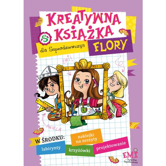 Książka Kreatywna ksiązka Flory Mielech Agnieszka