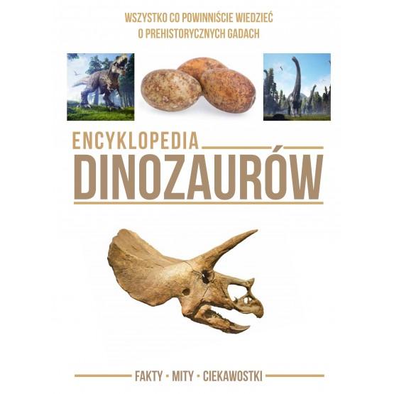 Książka Encyklopedia dinozaurów praca zbiorowa