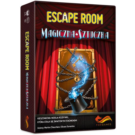 Gra rabat 35a Escape Room. Magiczna sztuczka