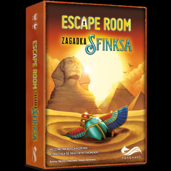 Gra logiczna Escape Room. Zagadka Sfinksa