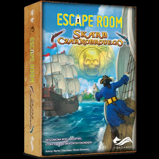 Gra logiczna Escape Room. Skarb Czarnobrodego
