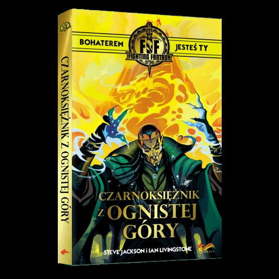 Gra paragrafowa Fighting Fantasy. Czarnoksiężnik z Ognistej Góry