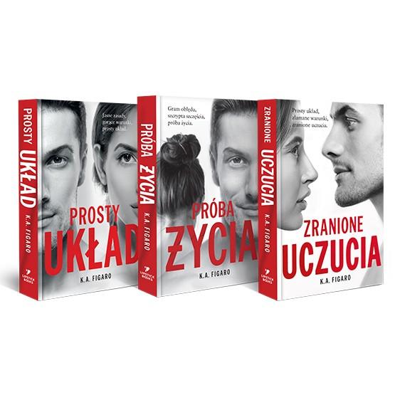 Książka Prosty układ. Pakiet. 3 tomy K.A. Figaro