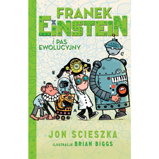 Książka Franek Einstein i pas ewolucyjny Scieszka Jon