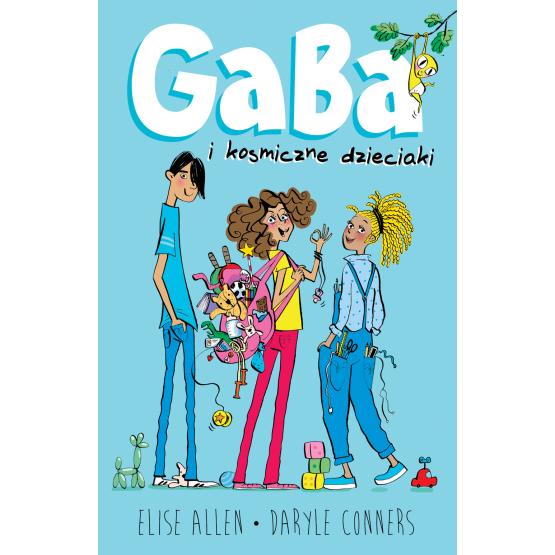 Książka Gaba i kosmiczne dzieciaki Allen Elise Conners Daryle