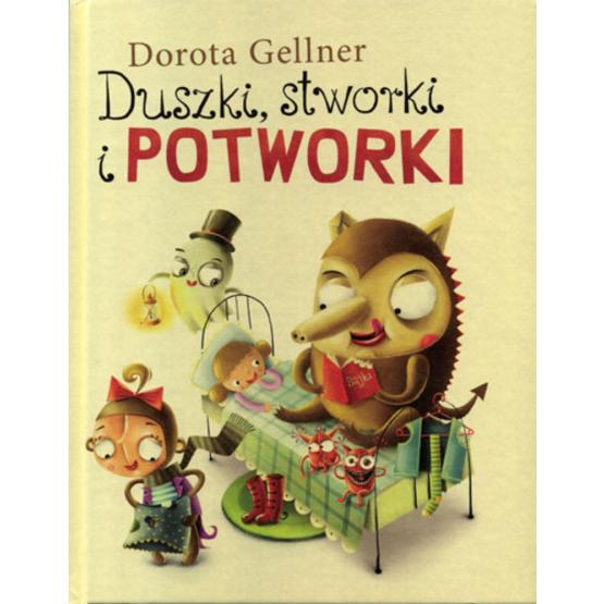 Książka Duszki, stworki i potworki Gellner Dorota