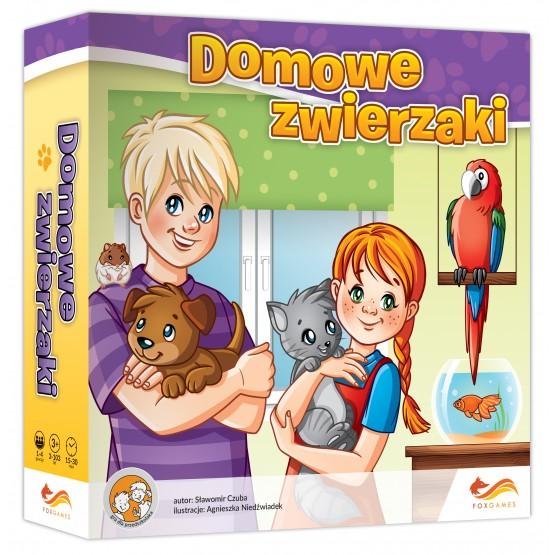 Gra familijna Domowe zwierzaki