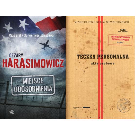 Książka Miejsce odosobnienia + Akta osobowe Harasimowicz Cezary